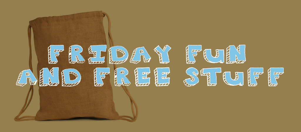 friday fun and free stuff backpack header