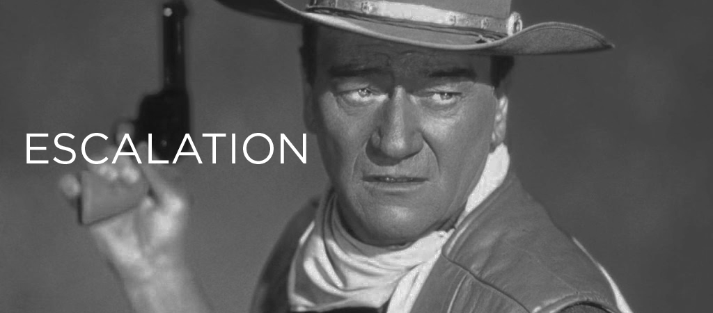PREVIEW escalation JOHN WAYNE