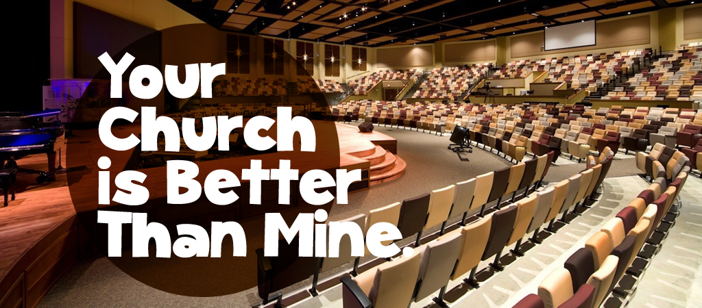 your church is better than mine E