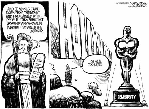 celebrity worship cartoon