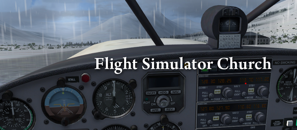 flight simulator church