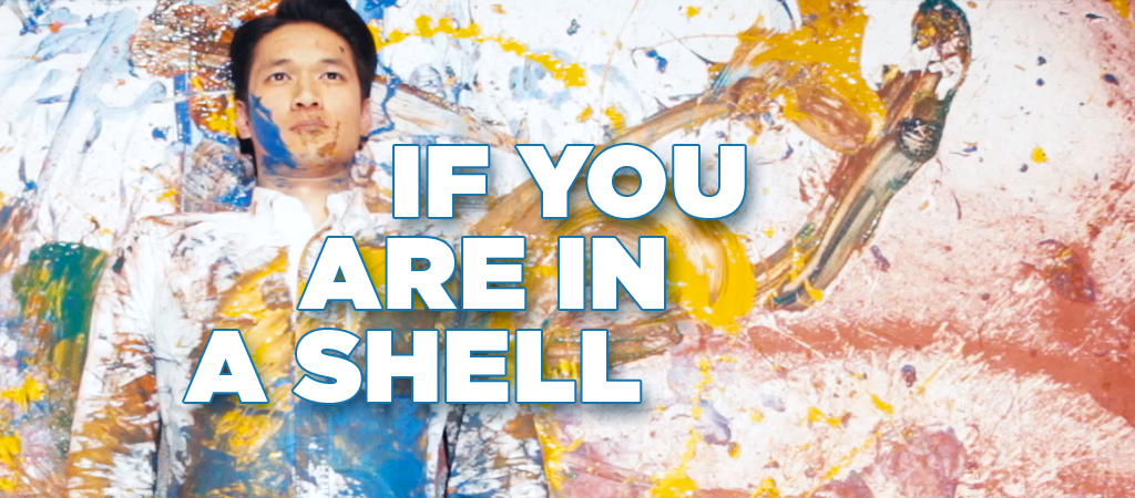 if you are in a shell title