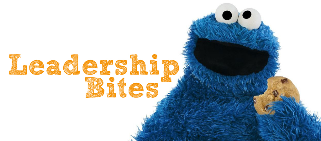 leadership bites cookie monster version
