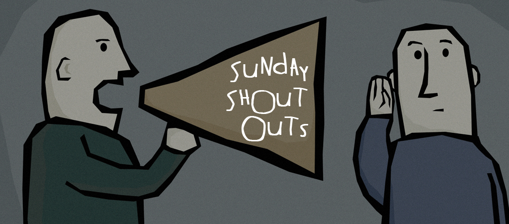 sunday shout outs header