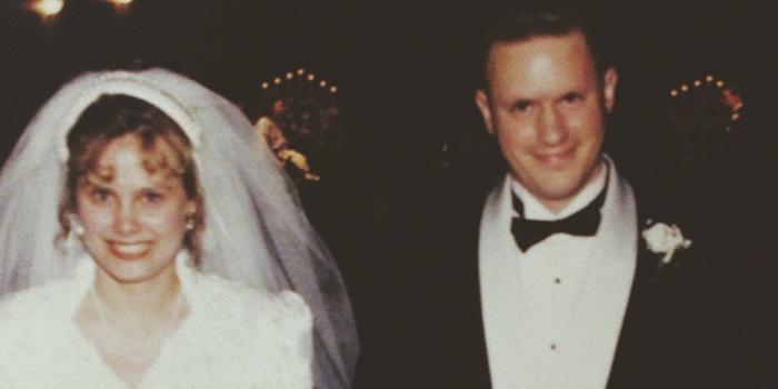 wedding picture 1993
