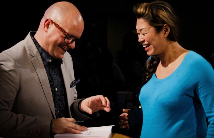 PB signing elizabeths book