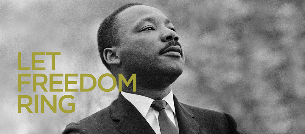 let freedom ring MLK day