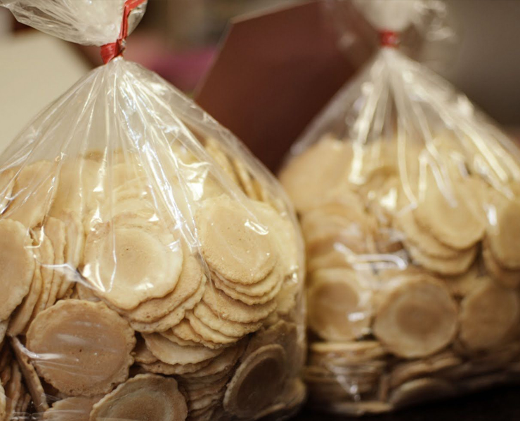 bags of unfortune cookies for post